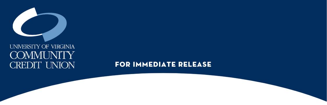 UVA Community Credit Union - For Immediate Release