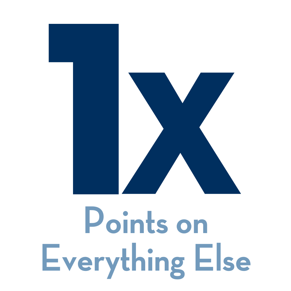 1x Points on Everything Else