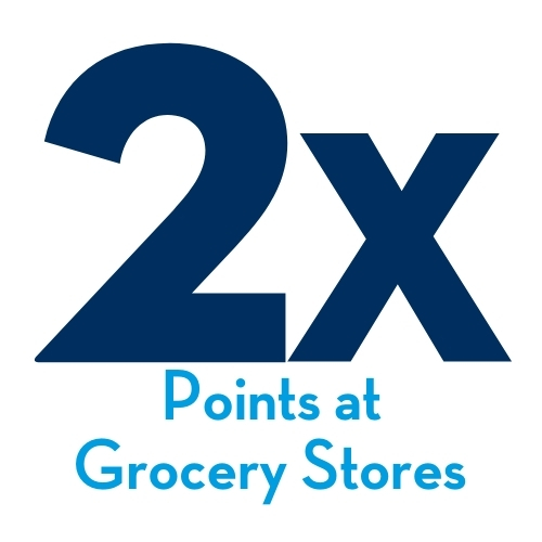 2x Points at Grocery Stores
