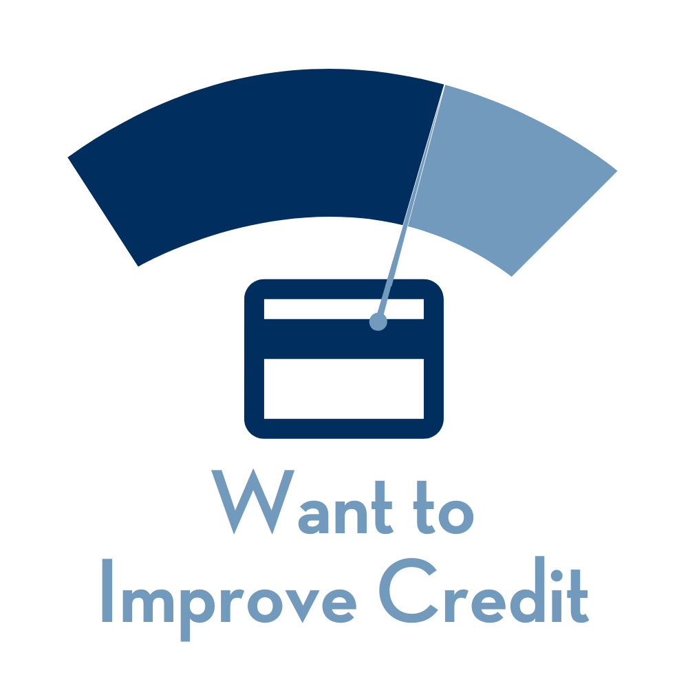 Want to Improve Credit