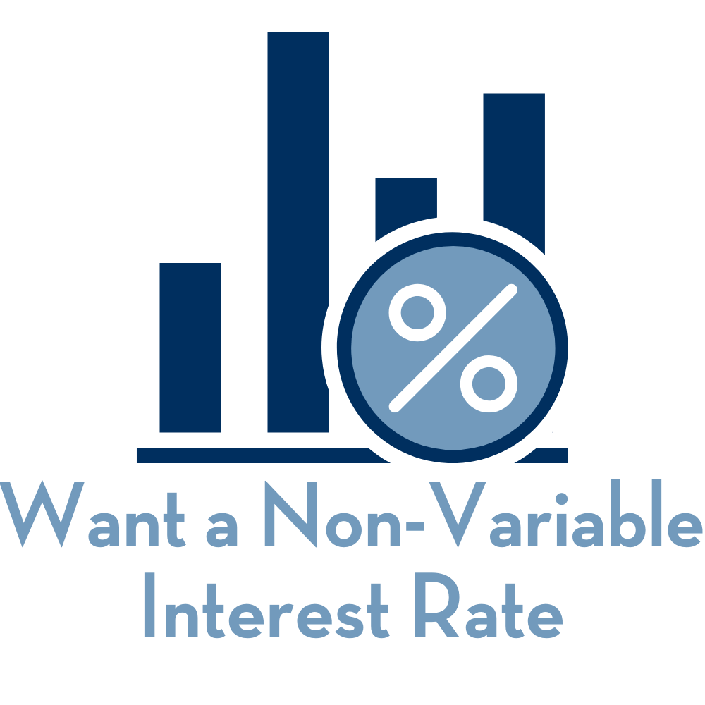 Want a Non-Variable Interest Rate