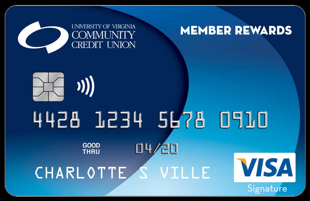 Member Rewards Credit Card