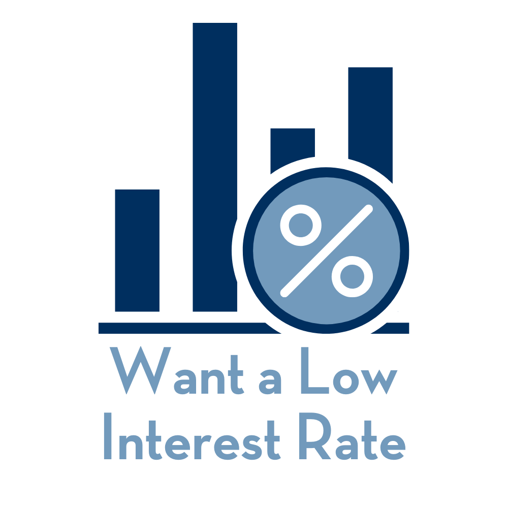 Want a Low Interest Rate