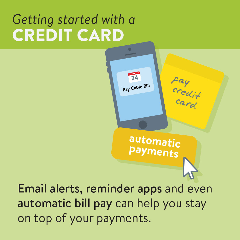 Email alerts, reminder apps and even automatic bill pay can help you stay on top of your payments.