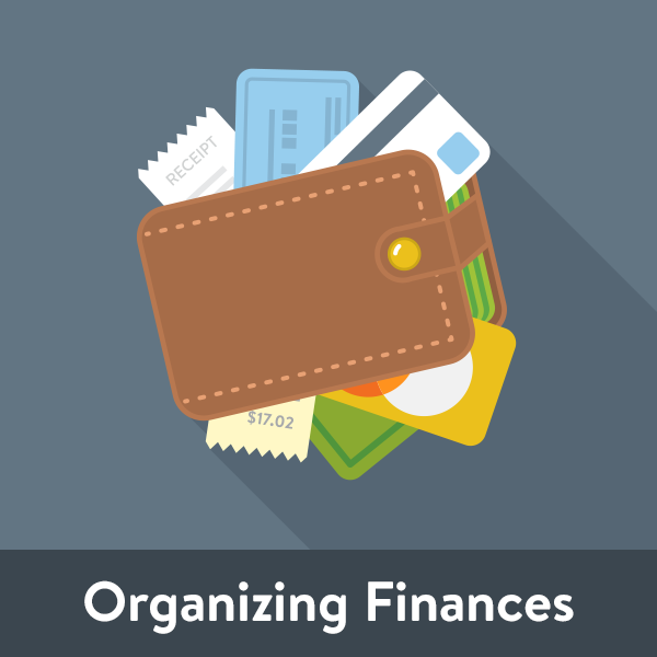 Organizing finances