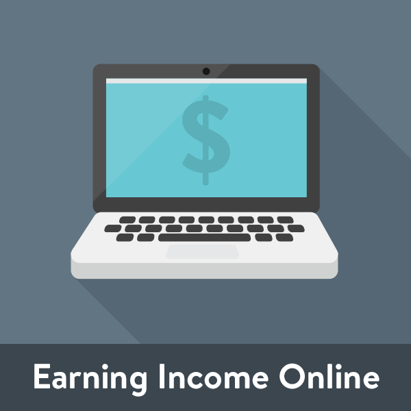 Earning income online