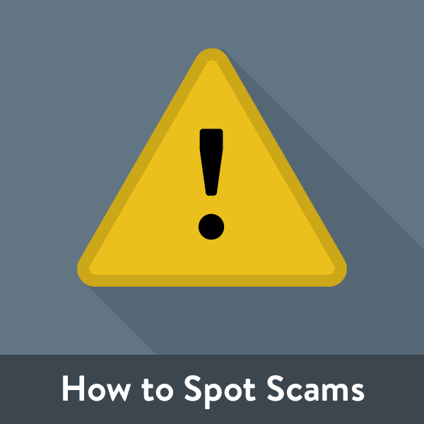 How to Spot Scams